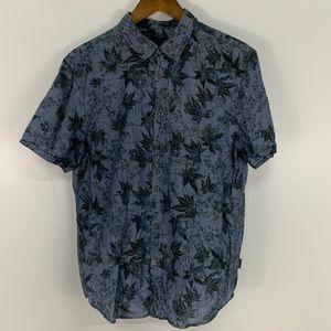 John Varvatos Star Floral Button Down Shirt